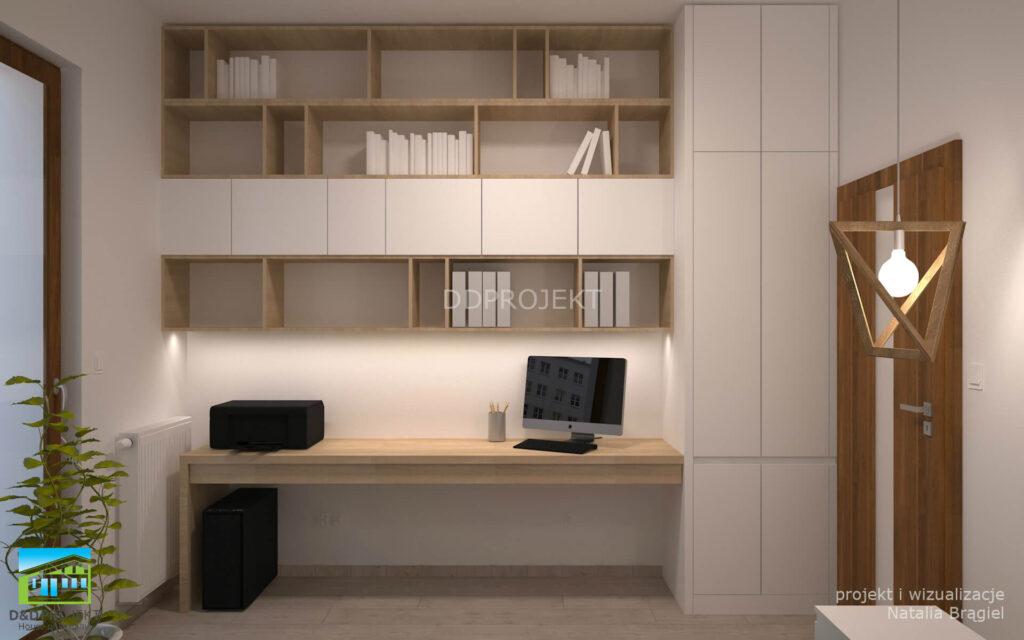 jak zaaranżować wyremontować biuro dd projekt