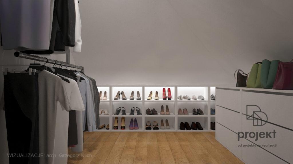 szafa wnękowa a garderoba